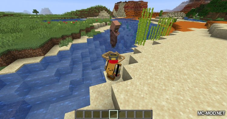 Dismount Entity mod for Minecraft (10)