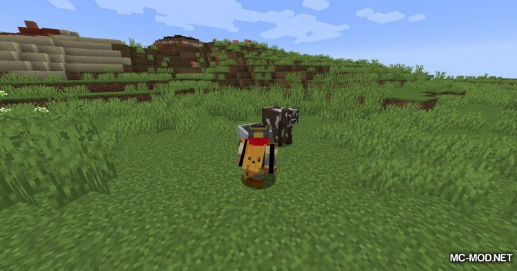 Dismount Entity mod for Minecraft (6)