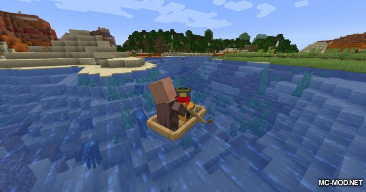 Dismount Entity mod for Minecraft (8)