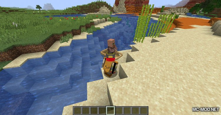 Dismount Entity mod for Minecraft (9)