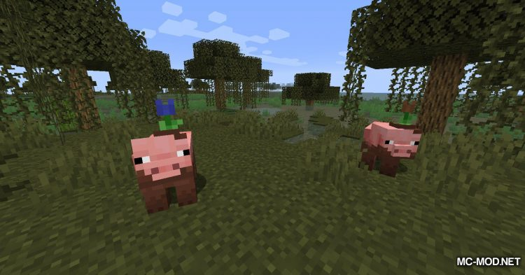 Earth Mobs mod for Minecraft (2)