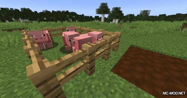 Earth Mobs mod for Minecraft (4)