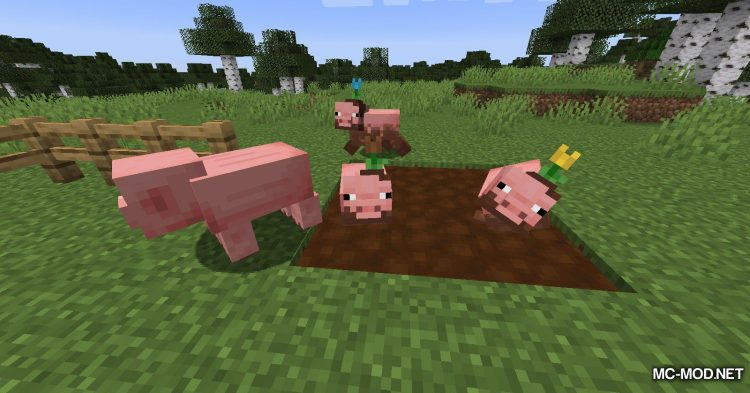 Earth Mobs mod for Minecraft (5)