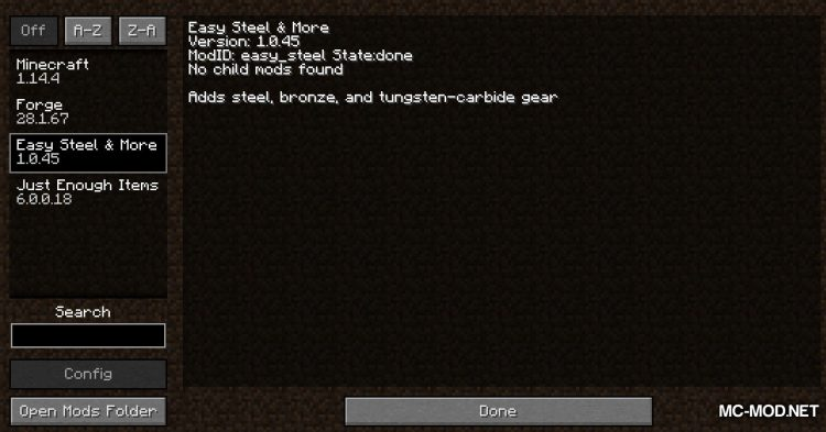 Easy Steel _ More mod for Minecraft (1)