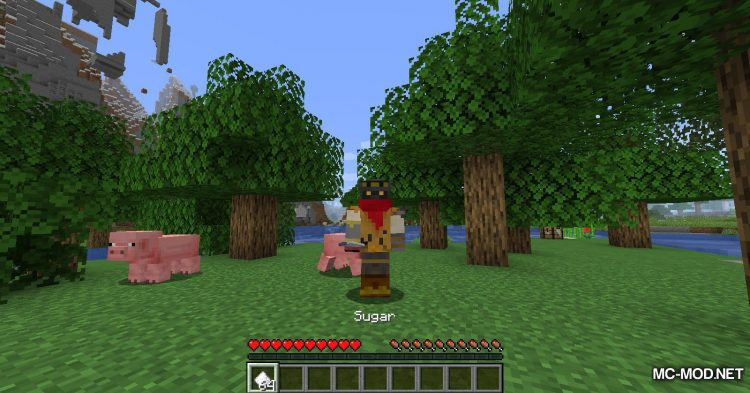 Edible Sugar mod for Minecraft (5)