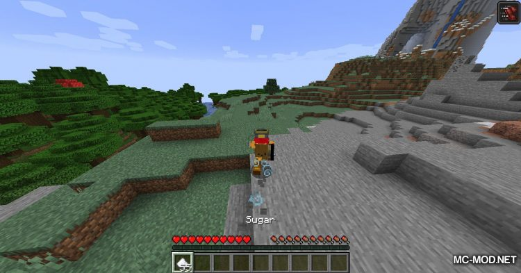 Edible Sugar mod for Minecraft (7)