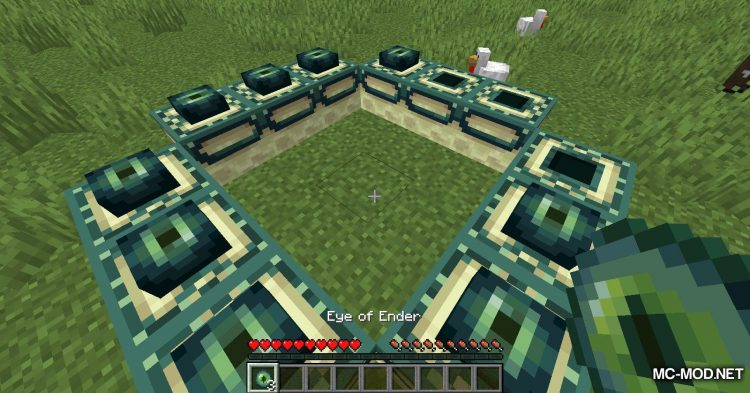 End Portal Recipe mod for Minecraft (9)