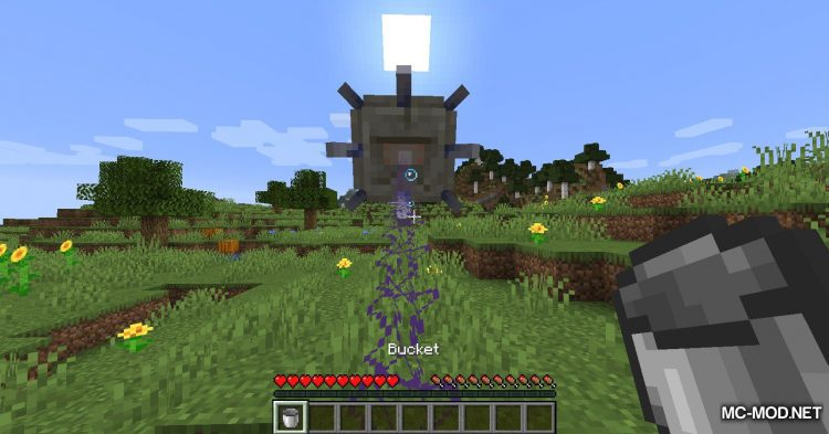 Get In The Bucket mod for Minecraft (11)