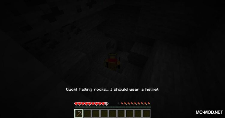 MineSafety mod for Minecraft (4)