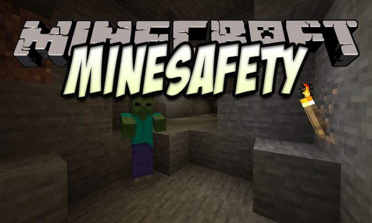 MineSafety mod for Minecraft logo