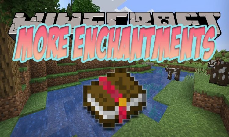 More Enchantments mod for Minecraft logo