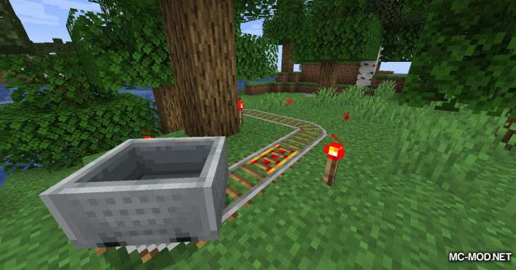 Move Minecarts mod for Minecraft (3)