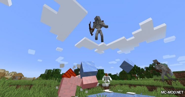Mutant Beasts mod for Minecraft (17)