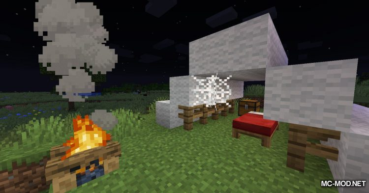 No Hostiles Around Campfire mod for Minecraft (11)