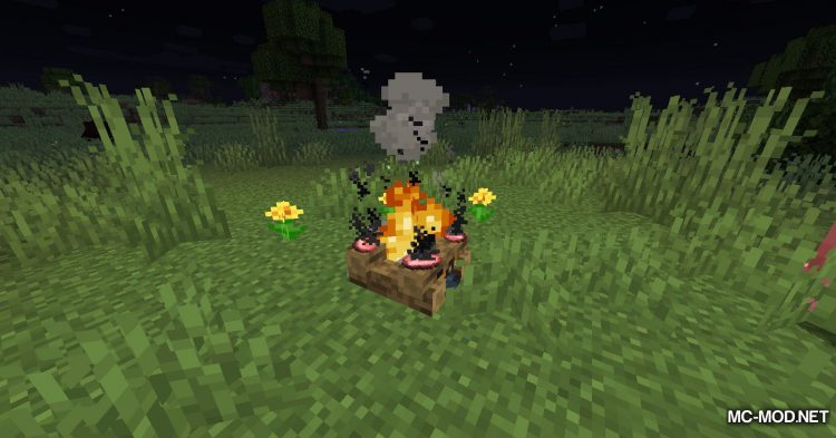 No Hostiles Around Campfire mod for Minecraft (5)