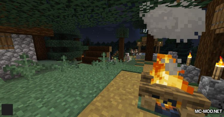 No Hostiles Around Campfire mod for Minecraft (8)