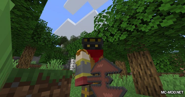TrinityWeapons mod for Minecraft (2)