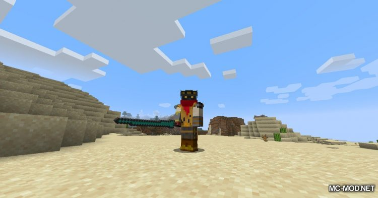 TrinityWeapons mod for Minecraft (6)
