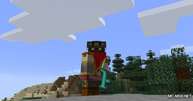 TrinityWeapons mod for Minecraft (7)