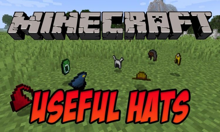 Useful Hats mod for Minecraft logo