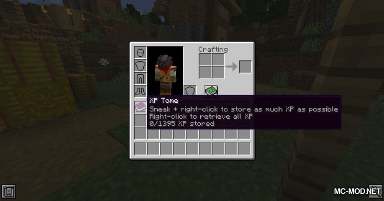 XP Tome mod for Minecraft (5)