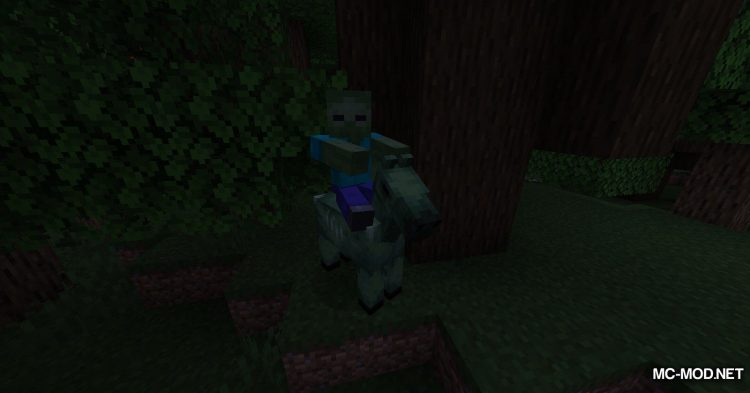 Zombie Horse Spawn mod for Minecraft (2)