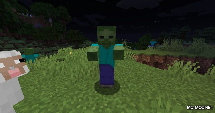 Zombie Horse Spawn mod for Minecraft (3)