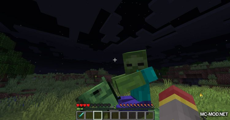 Zombie Horse Spawn mod for Minecraft (5)