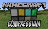 Compressium mod for Minecraft logo