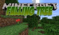 Falling Tree mod for Minecraft logo