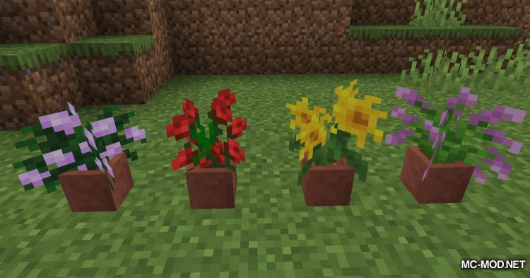 Florist mod for Minecraft (8)