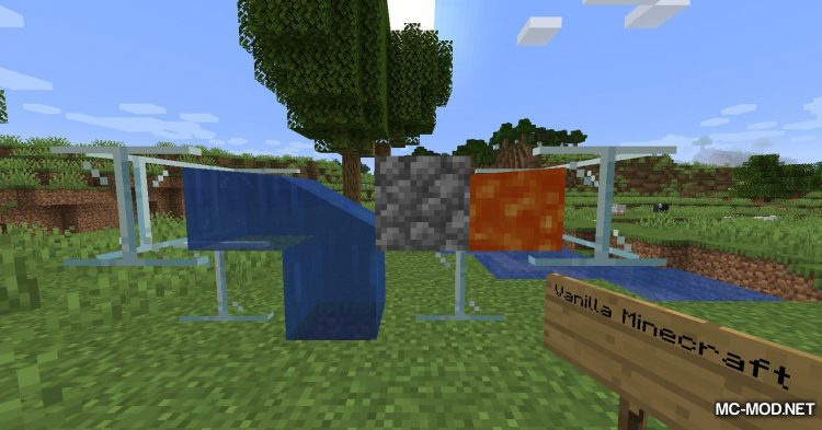 Fluid Interactions mod for Minecraft (1)