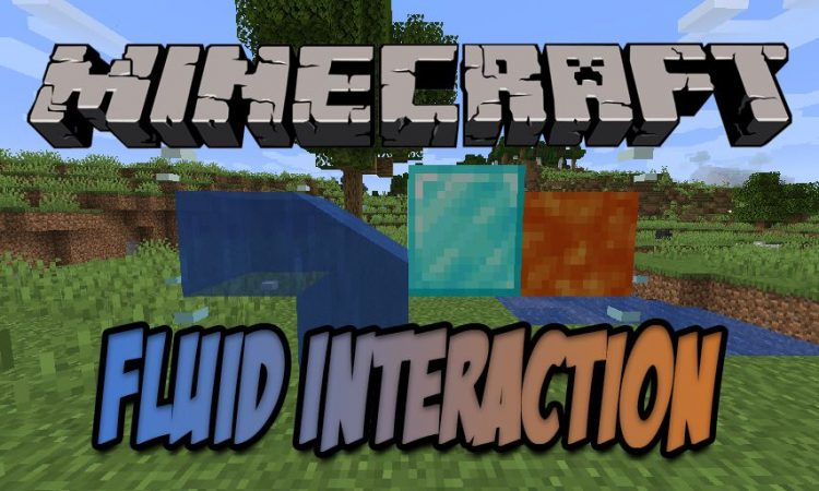 Fluid Interactions mod for Minecraft logo