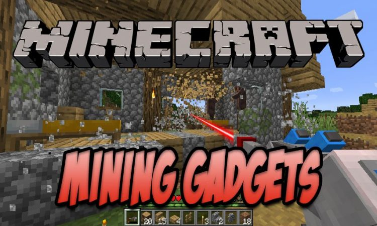 Mining Gadgets mod for Minecraft logo