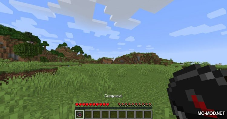 Northern Compass mod for Minecraft (5)