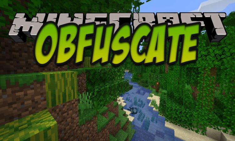 Obfuscate mod for Minecraft logo