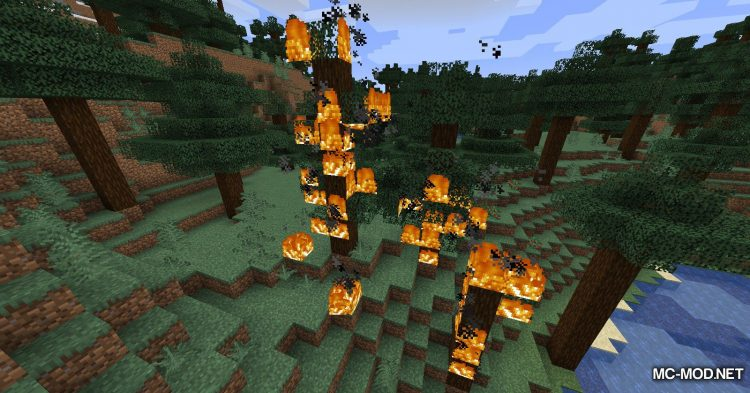 Realistic Fire Spread mod for Minecraft (7)
