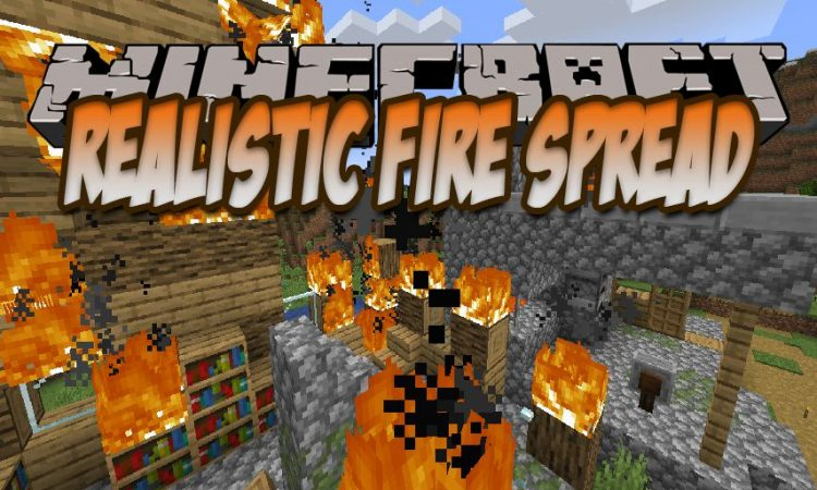 Realistic Fire Spread mod for Minecraft logo