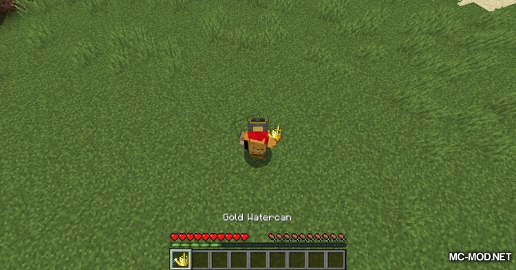 Watercan mod for Minecraft (10)