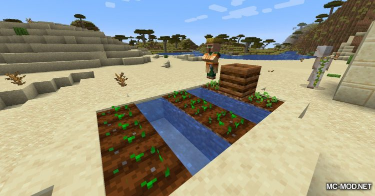 Watercan mod for Minecraft (2)