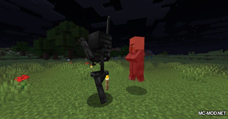 All Mobs Attack Villagers mod for Minecraft (12)