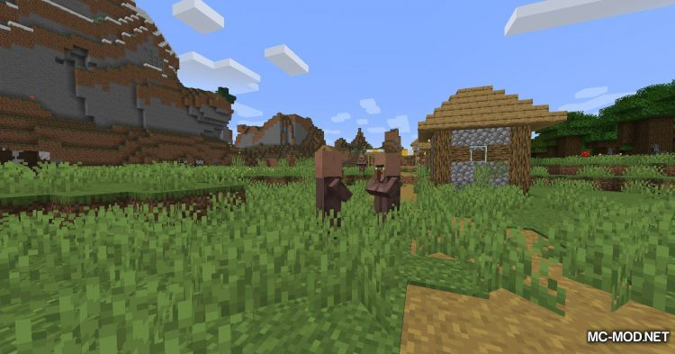 All Mobs Attack Villagers mod for Minecraft (2)