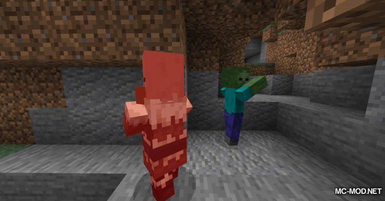 All Mobs Attack Villagers mod for Minecraft (4)