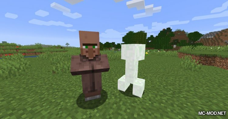 All Mobs Attack Villagers mod for Minecraft (8)