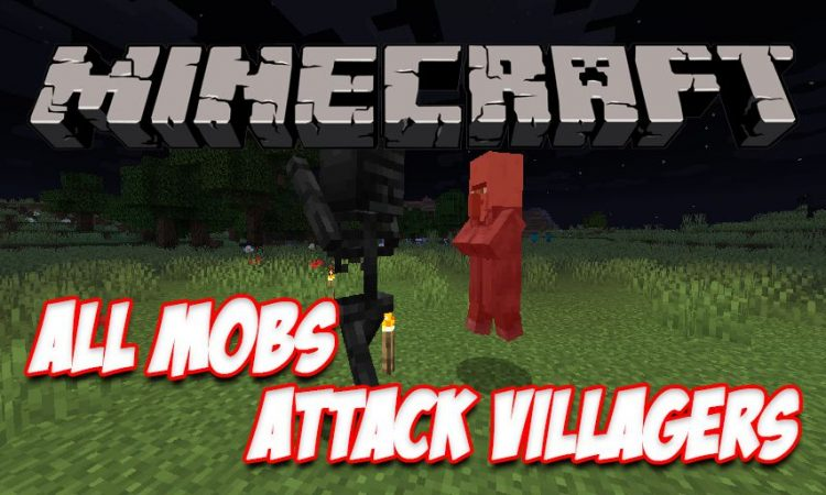 All Mobs Attack Villagers mod for Minecraft logo
