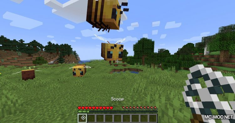 Bee Angry-est mod for Minecraft (11)