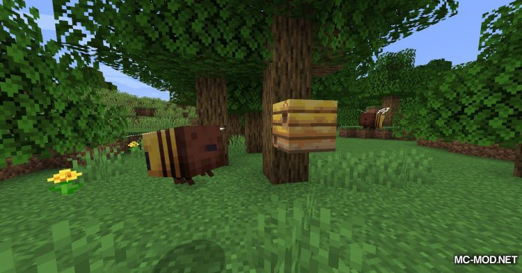 Bee Angry-est mod for Minecraft (3)
