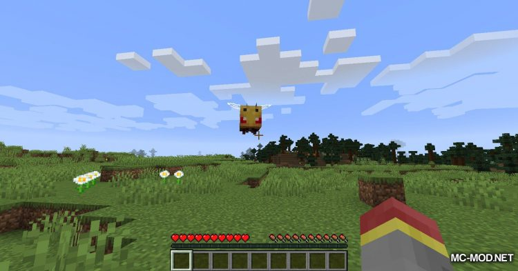 Bee Angry-est mod for Minecraft (8)