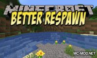 Better Respawn mod for Minecraft logo