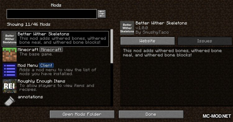 Better Wither Skeletons mod for Minecraft (1)